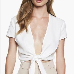 Bardot White Top